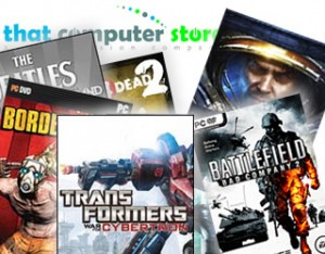 Featured Games at That Computer Store